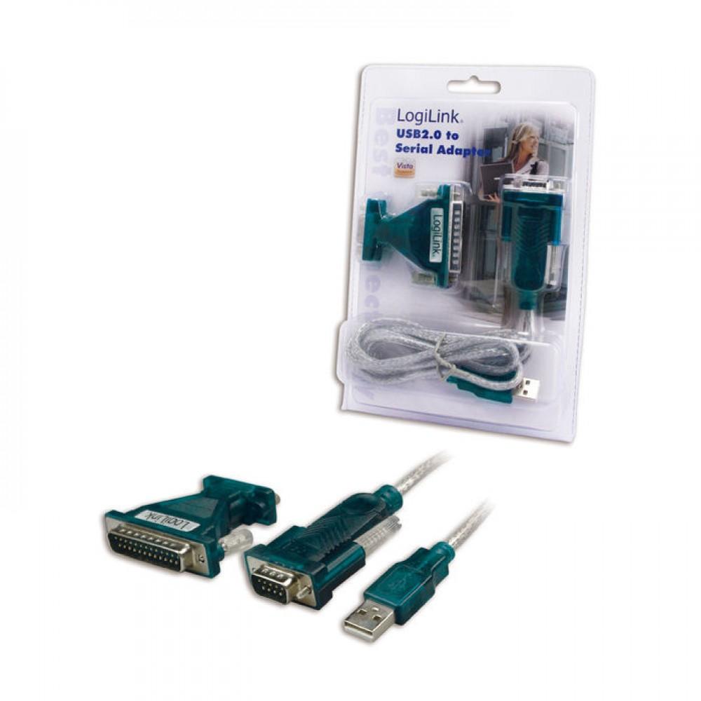 USB 2.0 to 1 serial 9/25 Logilink UA0042A