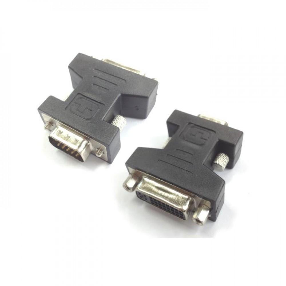 VGA male adaptor to DVI female Aculine AD-020