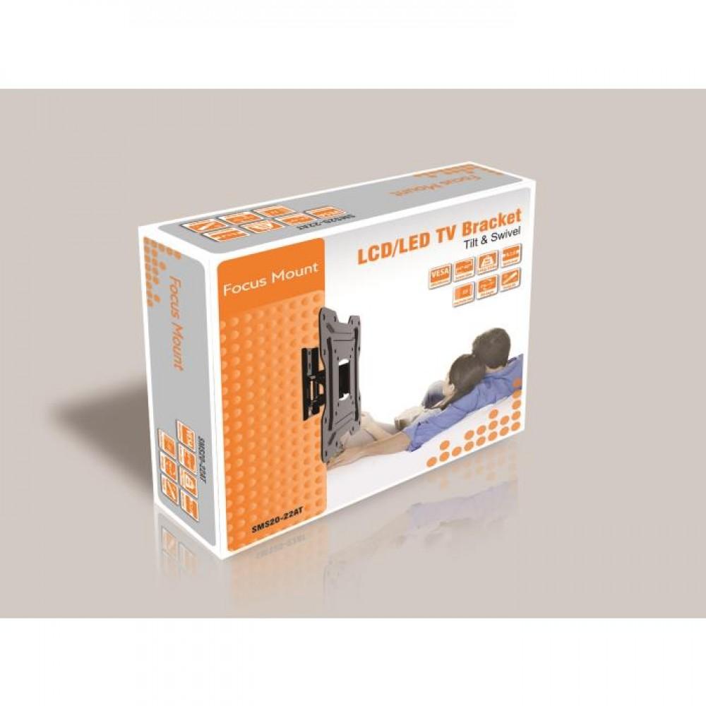 TV Bracket Focus Mount Tilt & Swivel SMS20-22AT