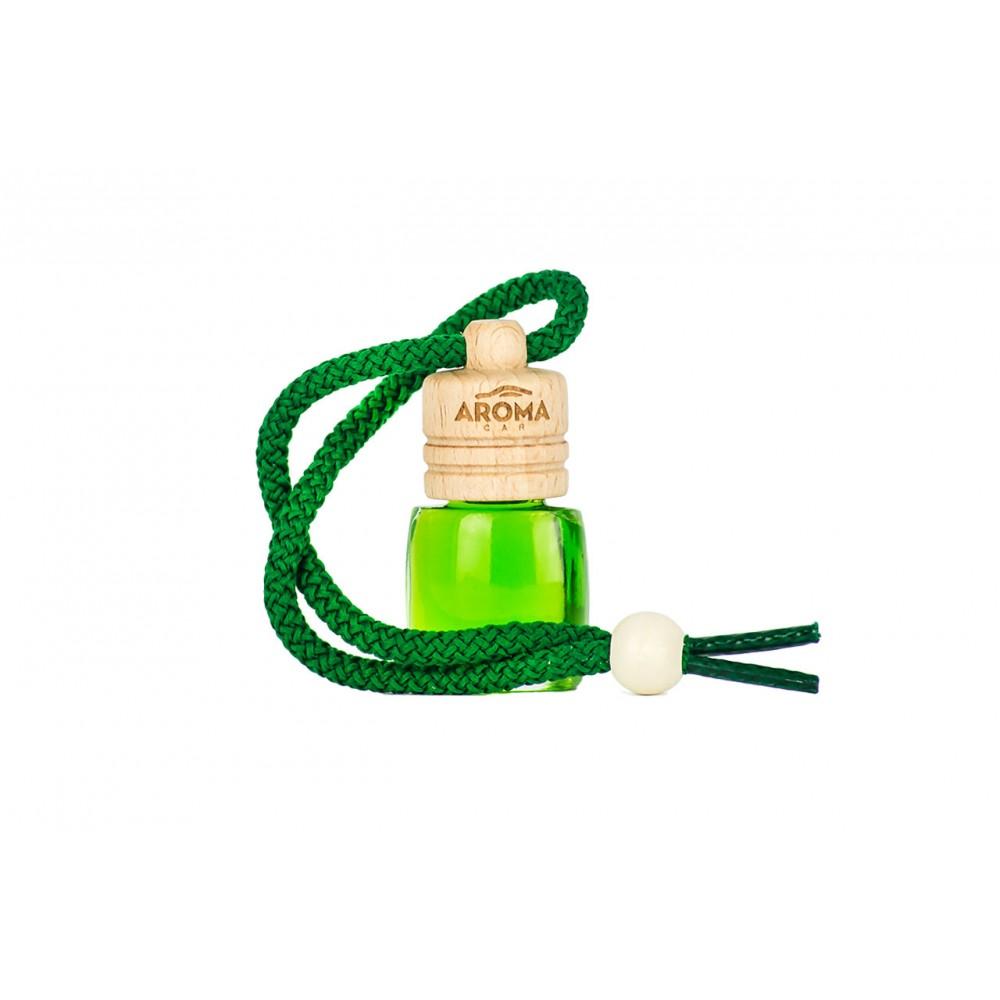 ΑΡΩΜΑΤΙΚΟ ΥΓΡΟ ΚΡΕΜΑΣΤΟ AROMA WOOD GREEN TEA (6 ml) AMiO - 1 ΤΕΜ.