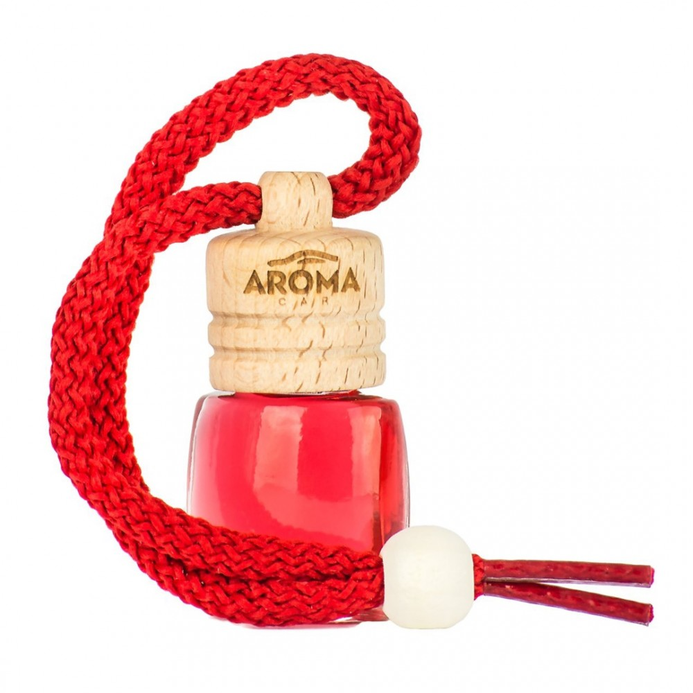 ΑΡΩΜΑΤΙΚΟ (ΚΡΕΜΑΣΤΟ) ΥΓΡΟ AROMA WOOD - STRAWBERRY (6 ml) AMiO - 1 ΤΕΜ.