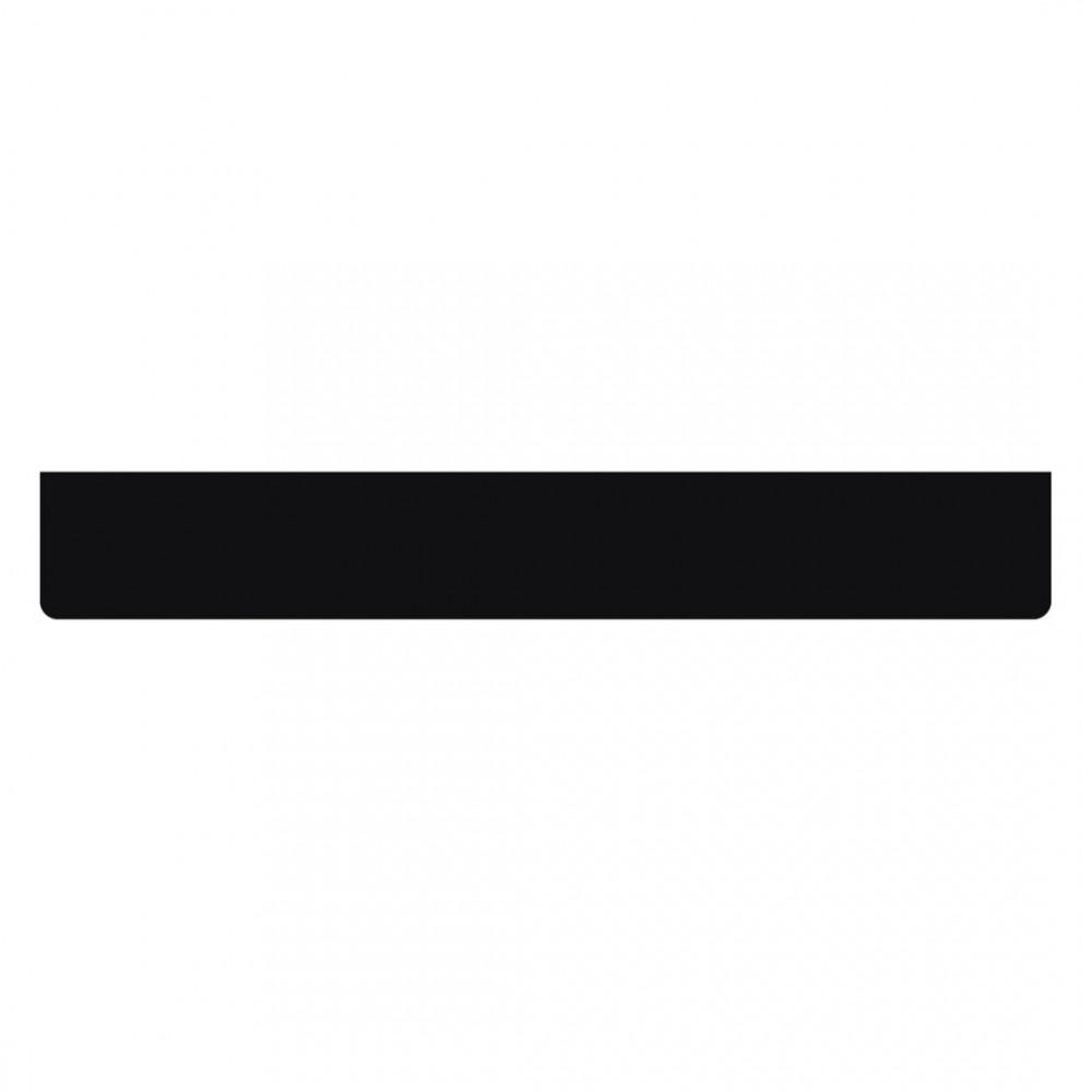 ΛΑΣΠΩΤΗΡΑΣ ΦΟΡΤΗΓΟΥ ΜΑΥΡΟΣ ΕΝΙΑΙΟΣ ΜΕ ΕΣΩΤΕΡΙΚΟ ΠΛΕΓΜΑ (ΜΕΤΑΛΛΙΚΗ ΜΠΑΡΑ ΜΕ ΒΙΔΕΣ) 240x35cm 1ΤΕΜ.